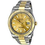 Rolex Datejust II Champagne Dial 18k Two-tone Gold Mens Watch 116333CSO from Rolex