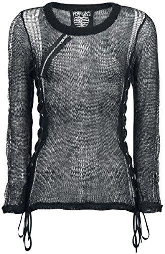 Heartless -  Maglia a manica lunga  - Donna nero XL
