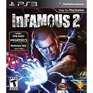 inFamous 2 Video Game for Playstation 3