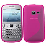 Samrick S Wave Hydro Gel Protective Case for Samsung S3570 Ch@t Chat 357 - Pink