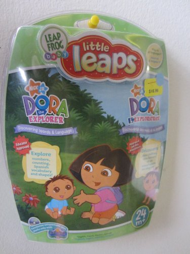 Baby Little Leaps Dora the Explorer Leapfrog