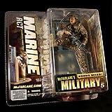 "MARINE RCT * CAUCASIAN VARIATION * McFarlane's Military Series 5 Action Figure & ""Bonus Sized"" Display"