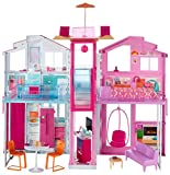 Toy - Barbie 3-Storey Townhouse Playset