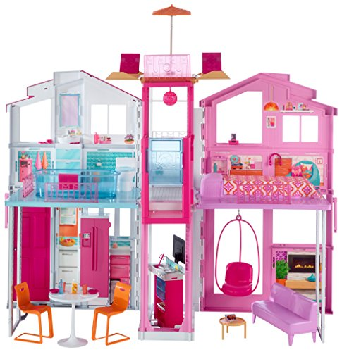 Barbie 3-Storey Townhouse Playset