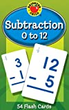 Subtraction 0 to 12 Learning Cards (Brighter Child Flash Cards)