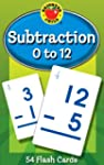 Subtraction 0 to 12 Learning Cards (B...