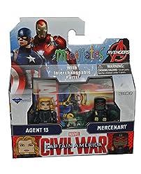 Minimates Captain America Civil War-Agent 13 & Mercenary