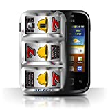 STUFF4 Phone Case Cover for Samsung Galaxy PocketS5300 Bells Design Slot Machine Collection