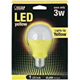 Feit Electric A19/Y/LED A19 Yellow LED