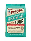 Bob's Red Mill Super-Fine Cake Flour, 48 Ounce (Pack of 4)
