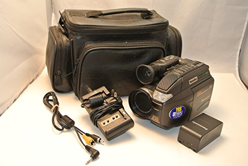 Panasonic PV-L858 Compact VHS/VHS-C PhotoShot Palmcorder Camcorder Bundle (Panasonic Vhs Camcorder compare prices)