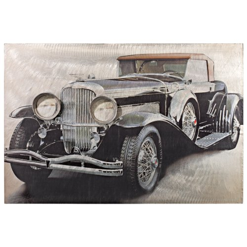 Design Toscano On the Road Classic Car-Side Vintage Auto Wall Art (Classic Car Photography compare prices)