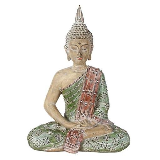 Sehr-Groe-wunderschne-Thailndische-Sitzender-Buddha-Kunstvoller-Statue