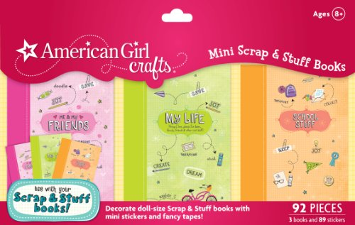 American Girl Crafts Mini Scrap and Stuff Books