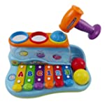 Rainbow Xylophone Piano Pounding Benc...