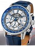 Vostok-Europe Gaz-Limo Quartz Chronograph with 24-Hour Sub-Dial 5611132