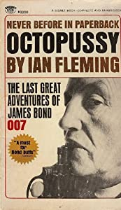 Ian Fleming Octopussy And The Living Daylights James Bond - 1st/1st - 1966