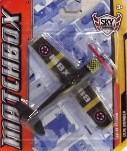 Matchbox Sky Busters Old Town Dive Bomber - 1