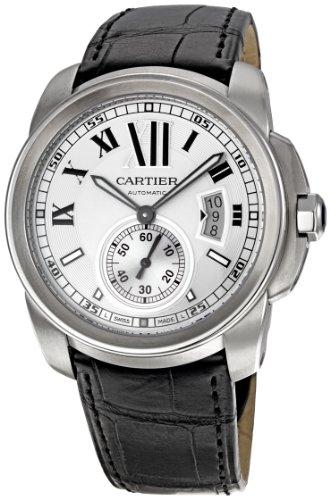 Cartier Men's W7100037 De Cartier Leather Strap Watch
