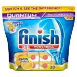Finish Quantum Lemon Sparkle 2 x Pack of 30 (60 Dishwasher Tablets)