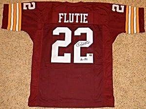 Autographed Doug Flutie Jersey - Bc #22 W Heisman 84 - Autographed College Jerseys