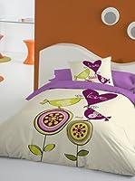 Juego De Funda Nórdica Love flores (Multicolor)
