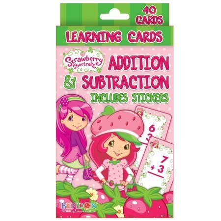 Bendon Publishing Int. - Strawberry Shortcake Addition and Subtraction Learning Cards - 1