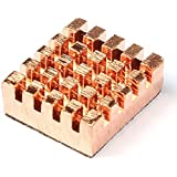 3 PC refroidissement le dissipateur de chaleur cuivre dissipateurs thermiques pour Raspberry Pi ver. 2.0 modèle B B + et mémoire de RAM VGA Cooler