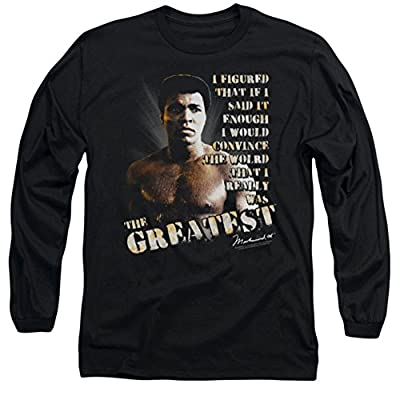 Muhammad Ali: Convince The World Long Sleeve T-Shirt