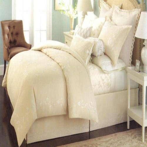 Martha Stewart Collection Trousseau Chinoiserie 210T King Comforter Cover front-973933