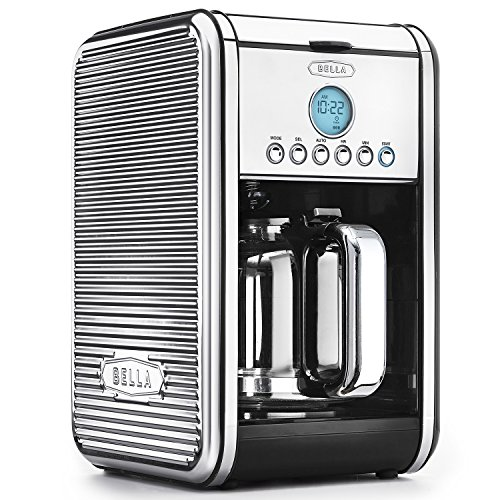 BELLA Linea Collection 12-Cup Programmable Coffee Maker made by BELLA from Coffee Maker World