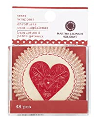 Martha Stewart Heart And Love Cupcake Wrappers