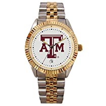 Texas A&M Aggies Suntime Mens Executive Watch - NCAA College Athletics