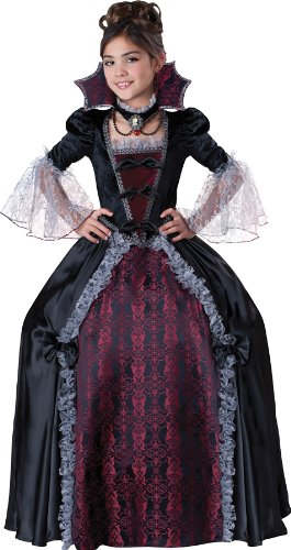 Vampiress of Versailles Large Child Costume Clothes Size 10