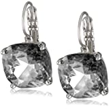"kate spade new york ""Essentials"" Small Square Lever Backs Earrings"
