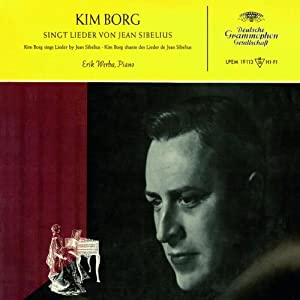 Kim Borg Sings Sibelius Songs from Decca (UMO)