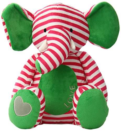 Bella Tunno Poetic Plush Animal, Love Elephant