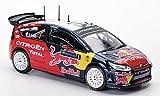 Citroen C4 WRC, No.1, Red Bull, S.Loeb / D.Elena, Rally Irland , 2009, Model Car, Ready-made, Solido 1:43