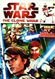 """Star Wars - The Clone Wars - """" Fire At Will """" Sticker Book to Color [ Coloring Activity Book ]"""
