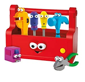 Amazon.com: Fisher-Price Disney's Handy Manny Talking Tool Box: Toys