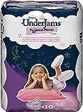 Pampers Underjams Girl 10 Pyjama Pants - Size 7, Pack of 4