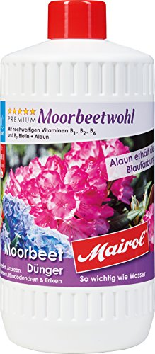 Mairol Moorbeet-Dünger Moorbeetwohl Liquid 1.000 ml
