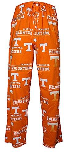 NCAA Tennessee Volunteers Mens Orange Fusion Pajama Pants