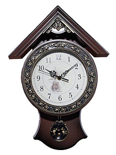 12''x17'', Foxtop Continental Retro Quartz Home Decoration Wall CLock