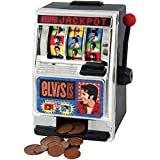 Elvis Presley Vegas Style Slot Machine Coin Bank - Fun Desktop Money Saver