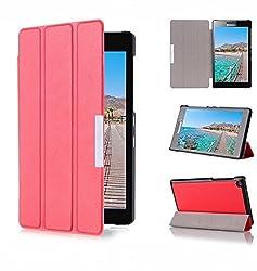 ProElite Ultra Sleek Flip Case cover for Asus ZenPad 7.0 / Theater 7.0 Z370CG [Red]