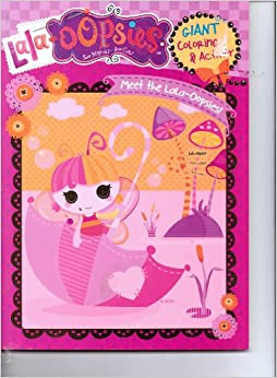 Lala-Oopsies Sew Magical! Sew Cute Giant Coloring