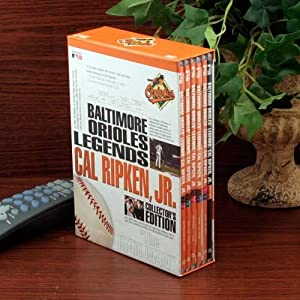MLB Baltimore Orioles Cal Ripken, Jr. Legends 6-Disc DVD Set by Football Fanatics