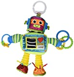 Tomy Lamaze Play and Grow Take Along Toy, Rusty the Robot