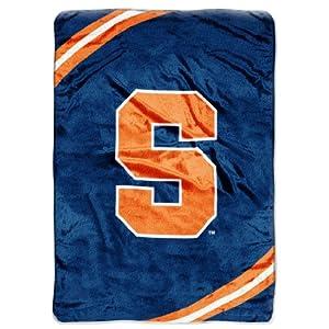 NCAA Syracuse Orange Force Royal Plush Raschel Throw Blanket, 60x80-Inch by Northwest